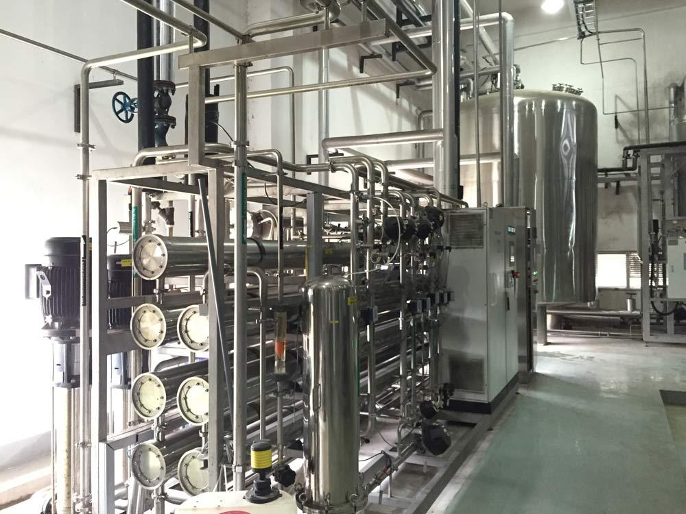 食品行业中水回用系统案例