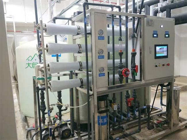 RO纯水设备运行系统案例