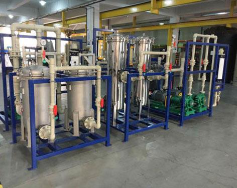 电子厂氨氮废水处理方法系统改造案例