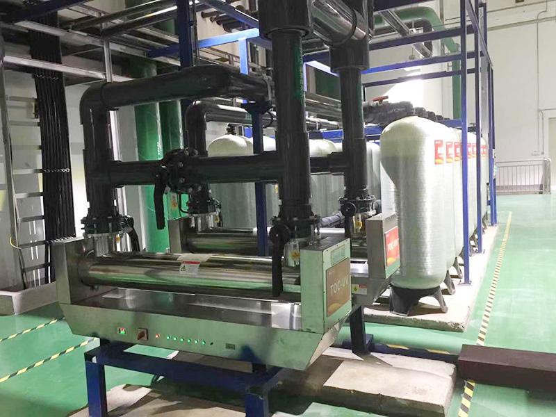 机加工电镀废水处理项目施工案例