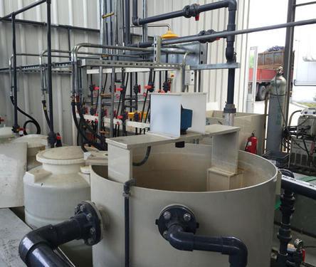 江苏某外资氨氮废水处理设计施工案例