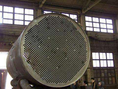 热力厂管式换热器除垢清洗设备案例